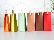 Doosje papier gekleurd doopsuiker