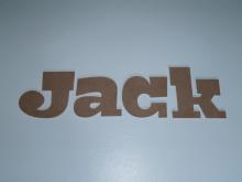 Jack houten letters