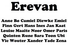 Erevan Lettertype