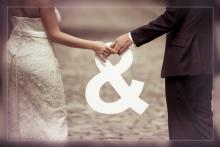 Originele huwelijksfoto
