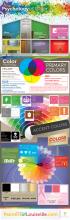 Kleuren infographic