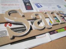 Zijkanten letters